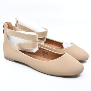 Taupe Ballet Flats